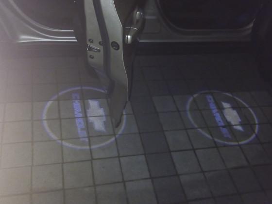 Wilkommenslicht auf der Beifahrerseite (alle Türen)