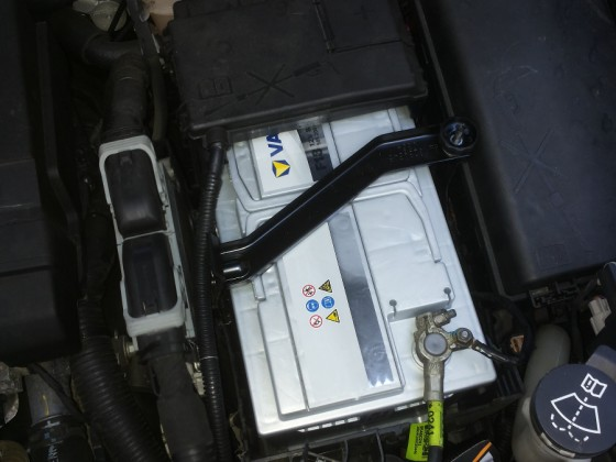 Neue Batterie