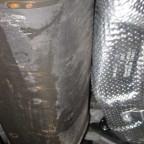 Hitzeschutz Auspuff zum Reserverad