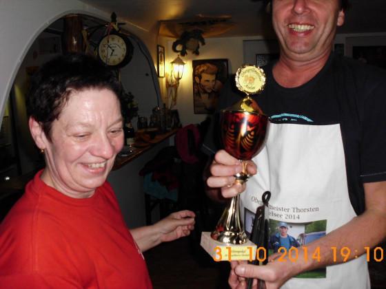 Pokal + Schürze glücklicher Thorlando