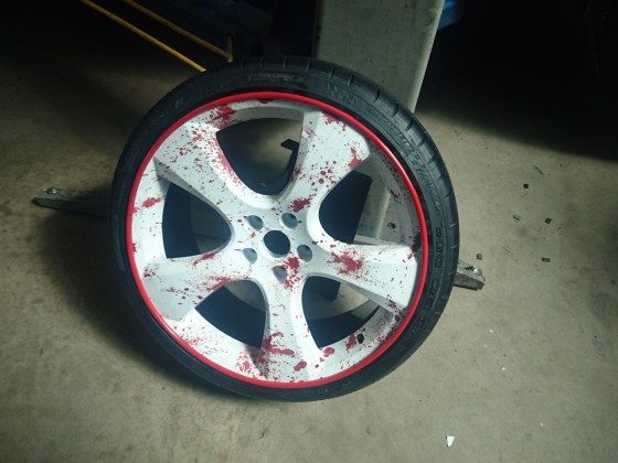 Reifen frisch aufgezogen