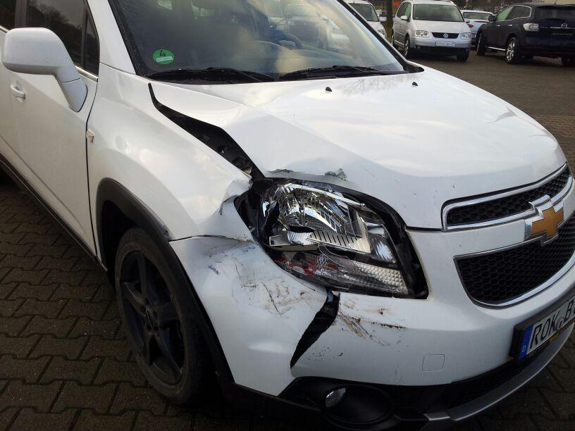 Unfall Februar 2014