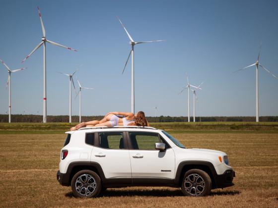 Mein Jeep mit Model