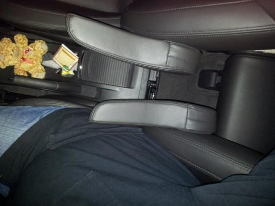 Armlehne für Beifahrersitz