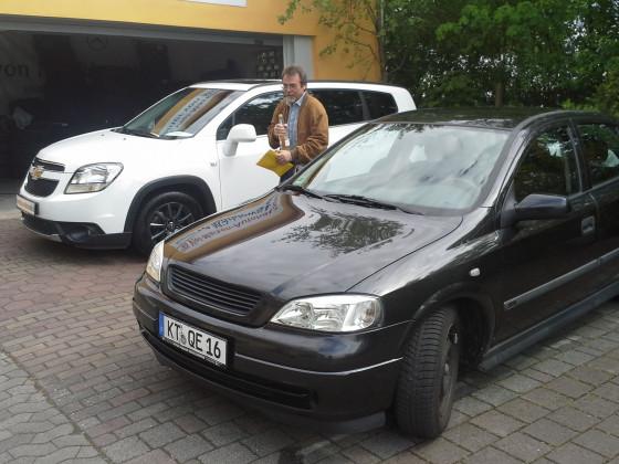 Neu u. Mein Opel Astra gib schub Rakete :D